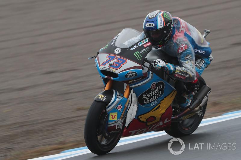 Na Moto2, Alex Marquez superou Takaaki Nakagami e venceu a corrida no Japão. Xavi Vierge e Hafizh Syahrin completaram o pódio