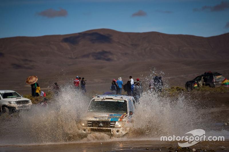 10. #360 Mitsubishi: Крістіна Гутьєррес, Педро Лопес