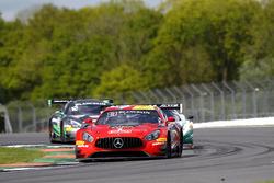 #90 Akka ASP, Mercedes-AMG GT3: Michael Meadows, Raffaele Marciello, Edoardo Mortara