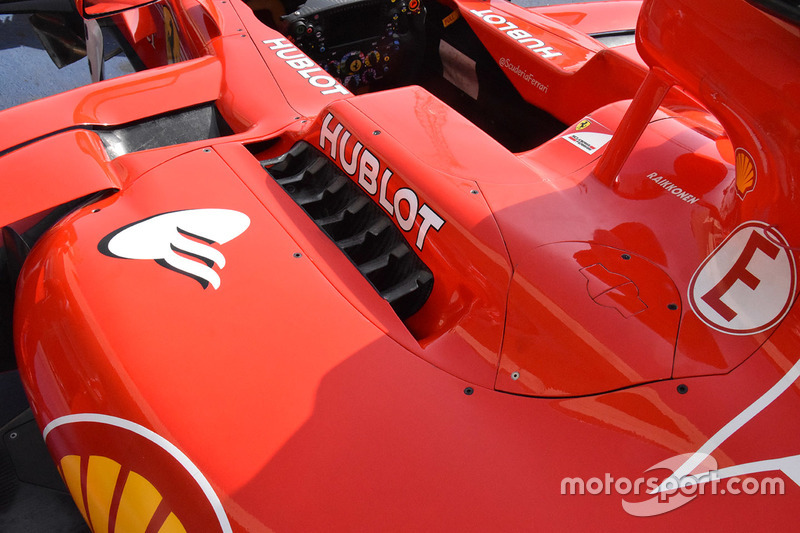 Кузовные панели Ferrari SF70H