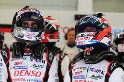 Sebastien Buemi, Jose Maria Lopez, TOYOTA GAZOO Racing