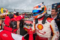 Race winner Fabian Coulthard, Team Penske Ford, Ludo Lacroix