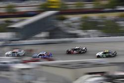 Spencer Gallagher, GMS Racing Chevrolet, Matt Tifft, Joe Gibbs Racing Toyota, Jeremy Clements, Jerem