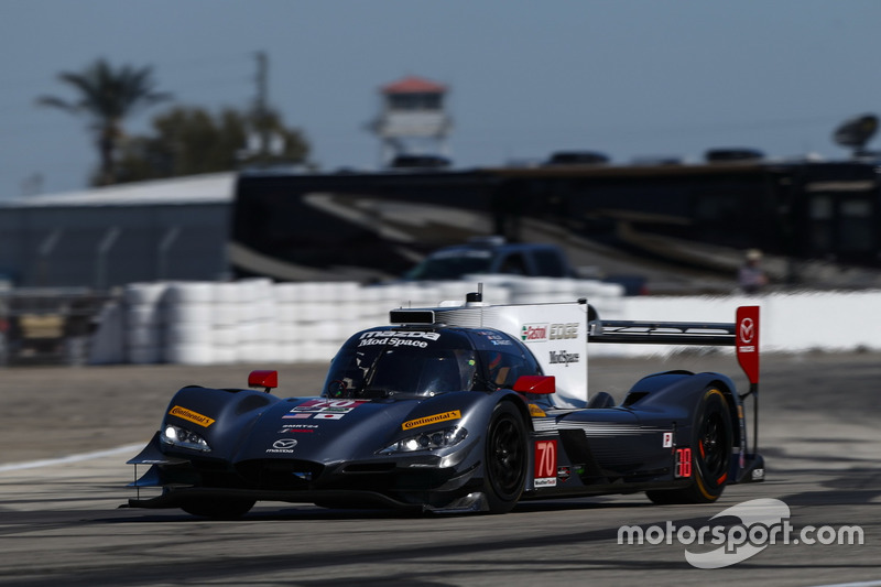#70 Mazda Motorsports, Mazda DPi: Joel Miller, Tom Long, Marino Franchitti