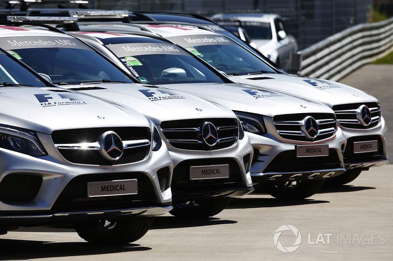 Una línea de vehículos médicos y de seguridad de Mercedes