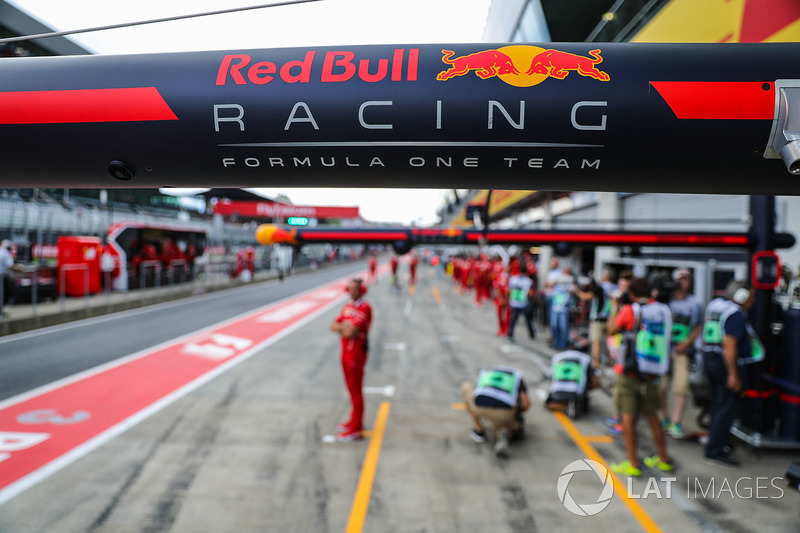 Обладнання для піт-стопу Red Bull Racing
