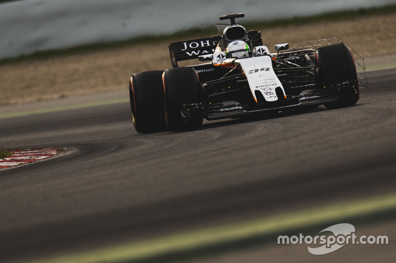 Alfonso Celis Jr., Force India VJM10
