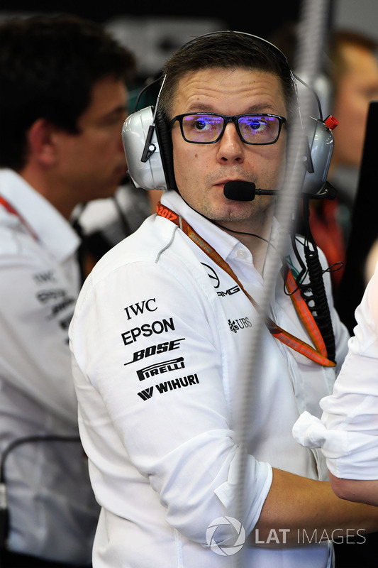Peter Bonnington, Mercedes-Renningenieur