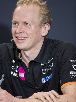 Andrew Green, Technical Director, Force India