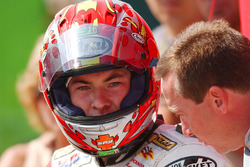 Nicky Hayden, Honda with Freddie Spencer