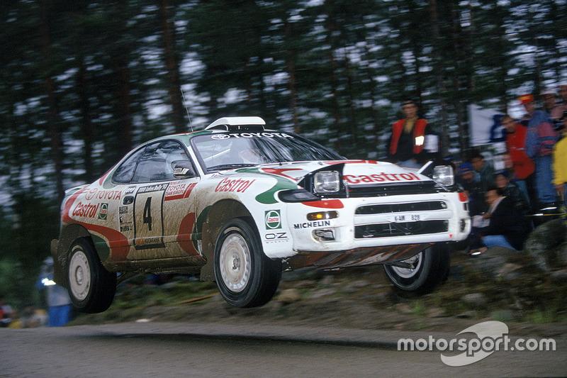 Juha Kankkunen, Juha Piironen, Toyota Celica Turbo 4WD