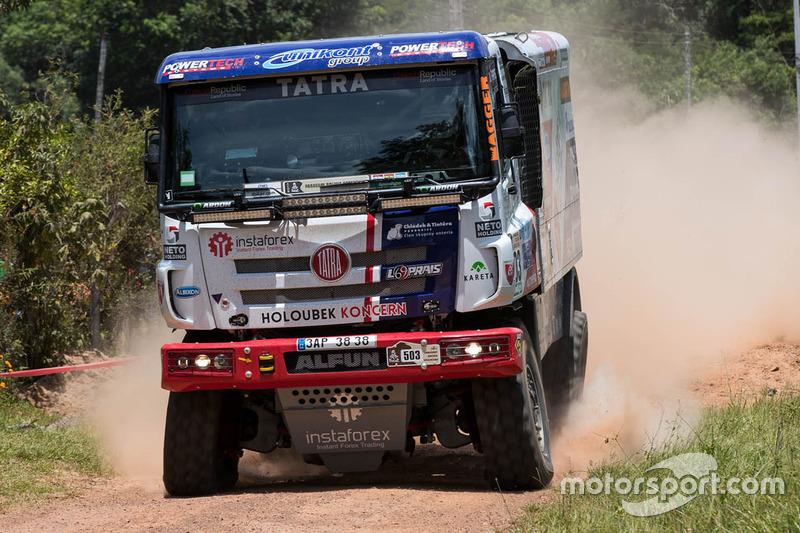 #503 Tatra: Ales Loprais, Jiri Stross, Jan Tomanek