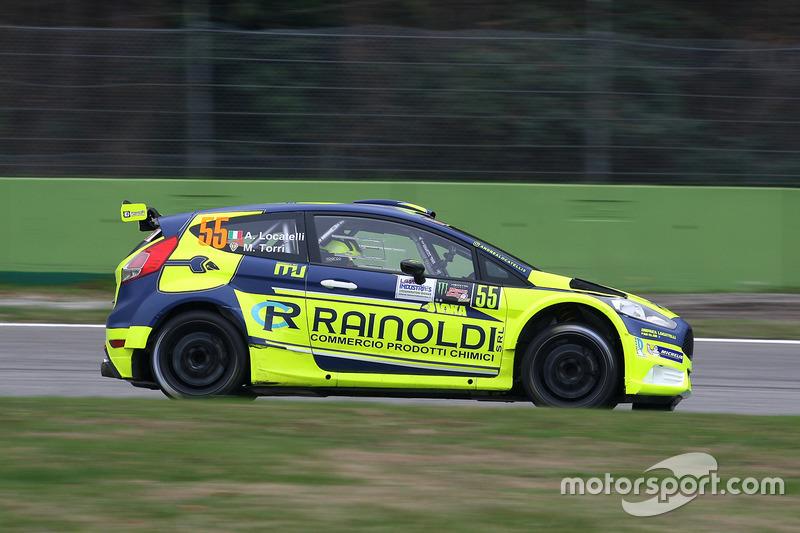 Andrea Locatelli, Massimo Torri, Ford Fiesta
