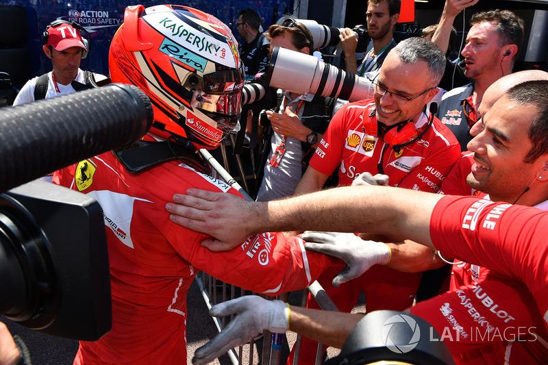 Ferrari, Kimi Raikkonen: 38 yaşında
