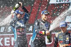 Andreas Mikkelsen, Anders Jäger, Volkswagen Motorsport, Thierry Neuville, Hyundai Motorsport