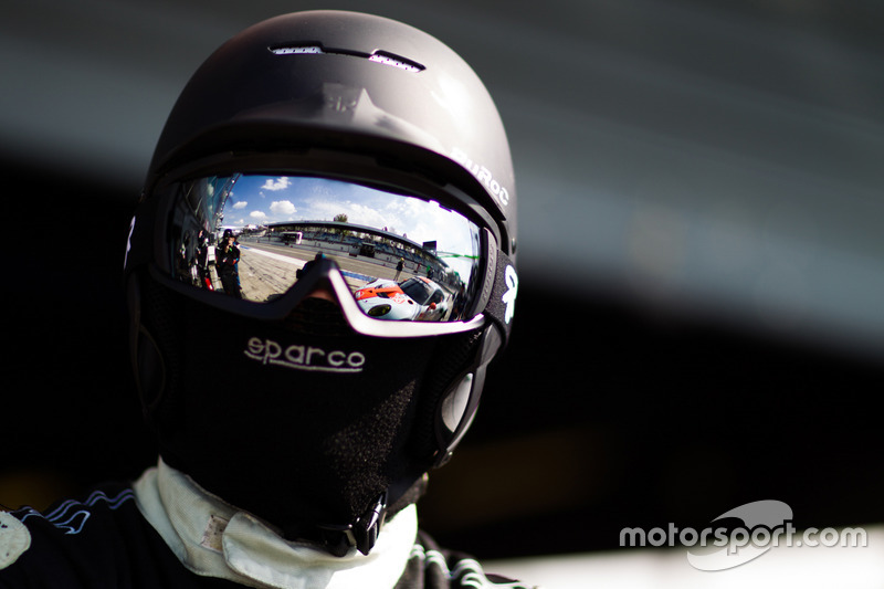 Gulf Racing team member