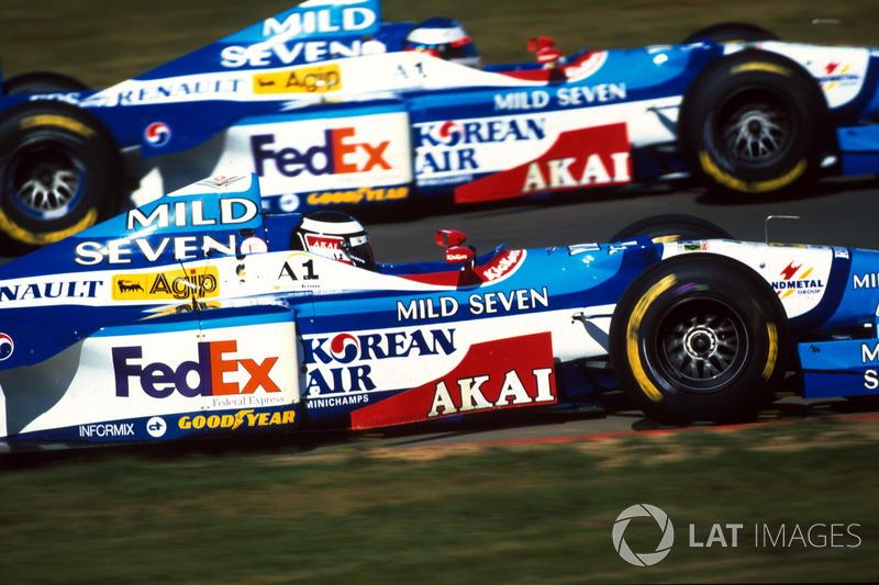 Герхард Бергер, Benetton Renault