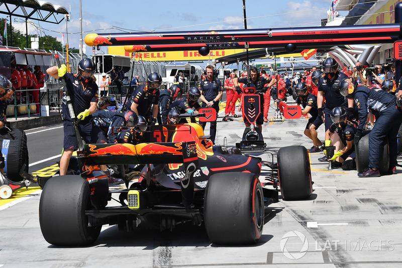 Піт-стоп Даніеля Ріккардо, Red Bull Racing RB13