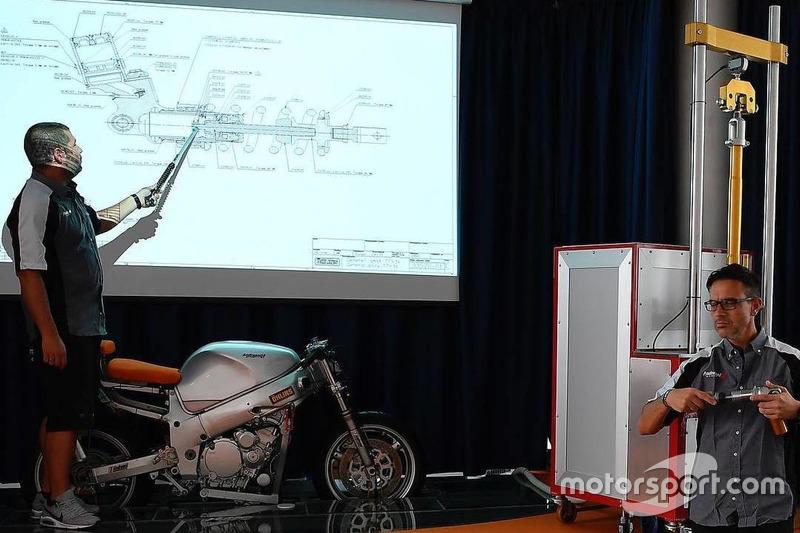 Учасники четвертого Yamaha VR46 Master Camp в офісі Andreani Group