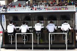 Пит-уолл Mercedes AMG F1