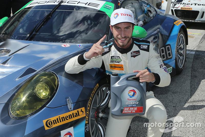 Polesitter GTD Alex Riberas, Team Seattle/Alex Job Racing
