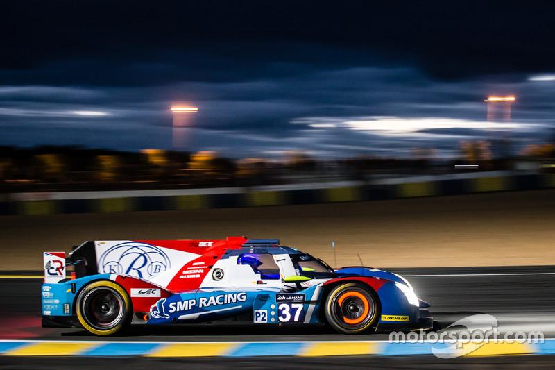 22: #37 SMP Racing BR01 Nissan: Vitaly Petrov, Viktor Shaytar, Kirill Ladygin
