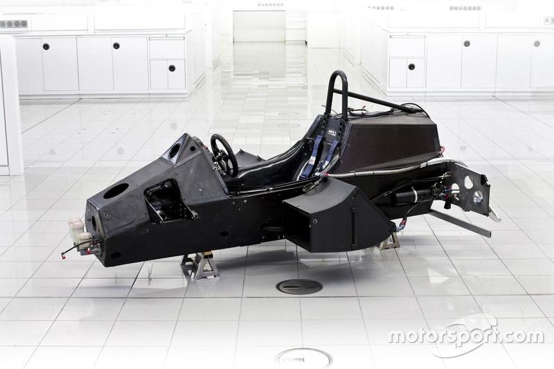 La monocoque de la McLaren MP4/1