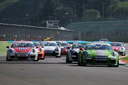 Sta per iniziare Gara 2 della Carrera Cup Italia