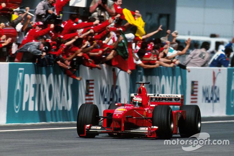 1999: Eddie Irvine, Ferrari F399