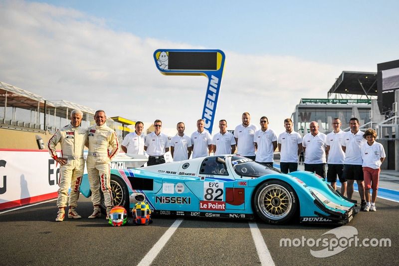 1990 Porsche 962C: Michel Lecourt, Raymond Narac