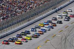 Brad Keselowski, Team Penske, Ford Fusion Snap on and Joey Logano, Team Penske, Ford Fusion Shell Pennzoil