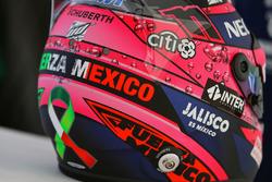 Шлем пилота Sahara Force India F1 Серхио Переса