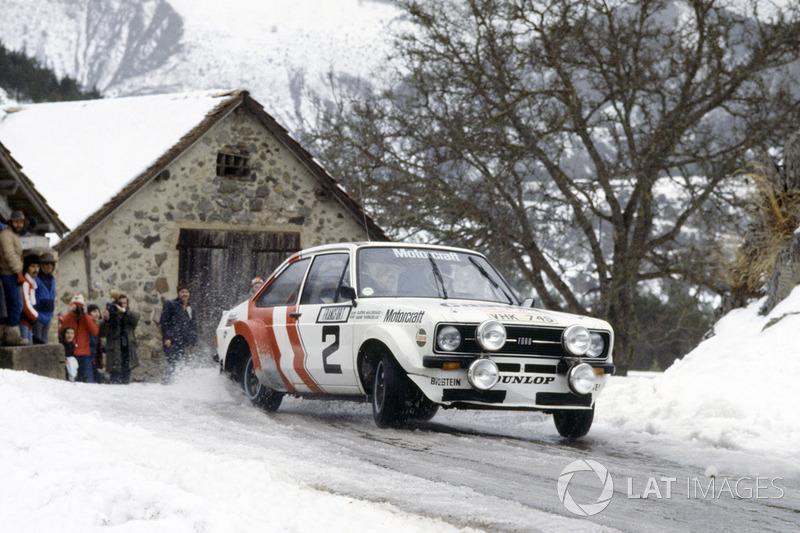 Björn Waldegard, primer campeón del mundo del WRC, en 1979