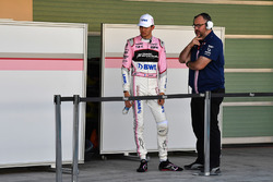 Естебан Окон, Sahara Force India F1, головний інженер Sahara Force India F1  Том Маккаллуг