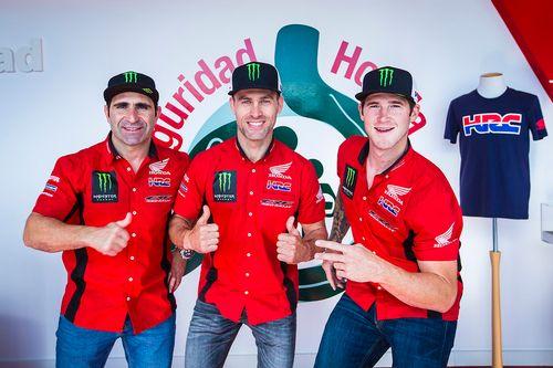 Honda Team presentation