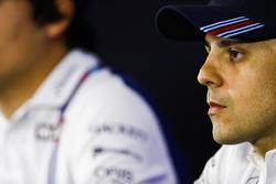Felipe Massa, Williams en la conferencia de prensa