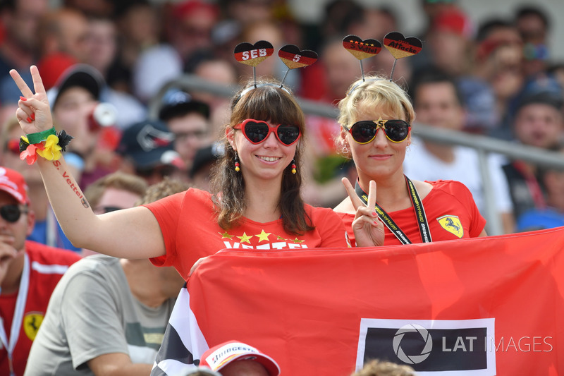 Fans de Vettel