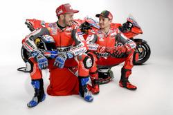 Jorge Lorenzo en Andrea Dovizioso, Ducati Team