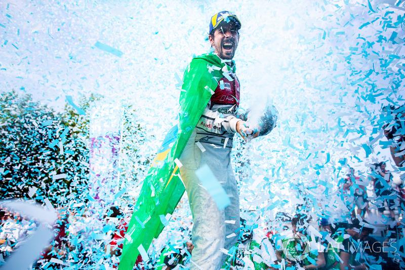 Lucas di Grassi, Audi Sport ABT Schaeffler, gana el ePrix de Zurich