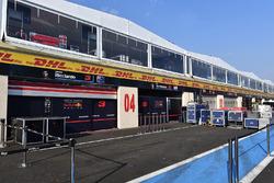 Red Bull Racing garage