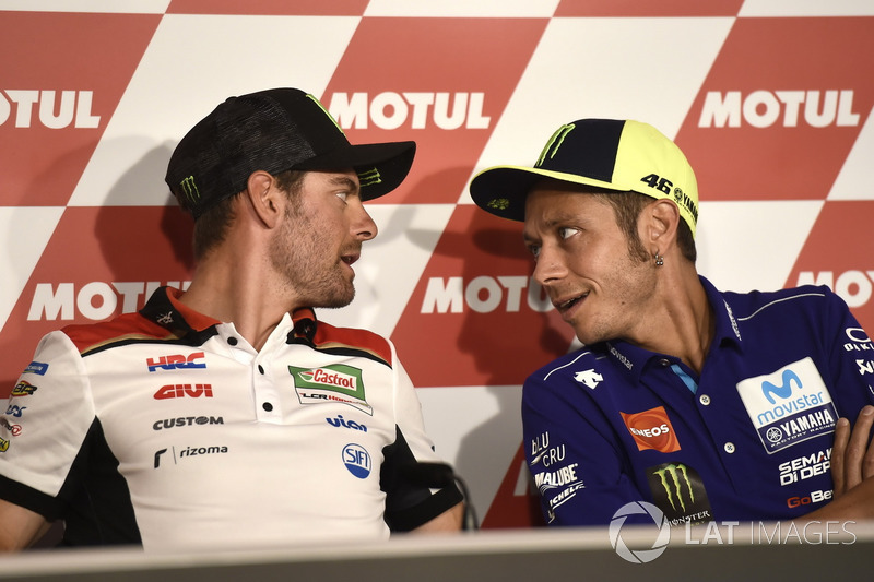 Conferencia de prensa, Valentino Rossi, Valentino Rossi, Yamaha Factory Racing, Cal Crutchlow, Team LCR Honda