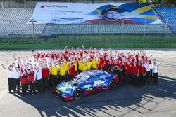Mattias Ekström, Audi Sport Team Abt Sportsline con el team