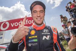 Winnaar Thierry Neuville, Hyundai Motorsport