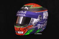 Helmet of Brendon Hartley, Toro Rosso for Monaco GP