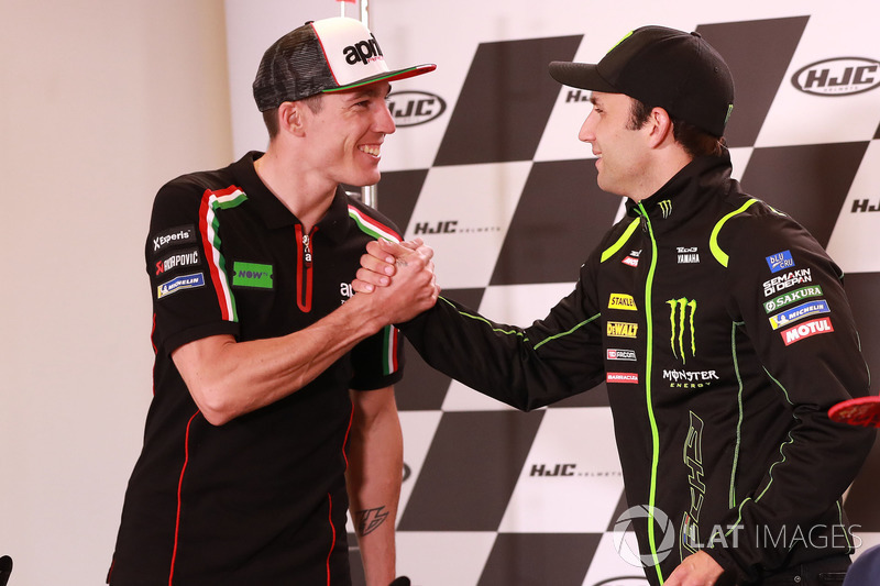 Aleix Espargaro, Aprilia Racing Team Gresini, Johann Zarco, Monster Yamaha Tech 3