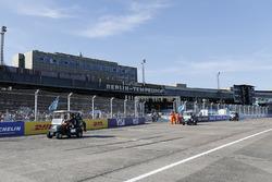 Antonio Felix da Costa, Andretti Formula E Team, Stéphane Sarrazin, Andretti Formula E Team, on the drivers parade