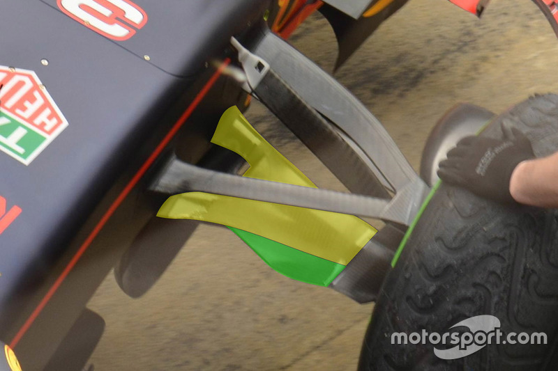 Detail, Red Bull Racing RB12