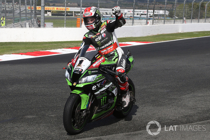 Переможець гонки та чемпіон світу 2017 року Джонатан Рей, Kawasaki Racing