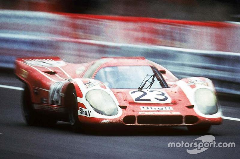 #23 Porsche KG Salzburg Porsche 917K: Hans Herrmann, Richard Atwood en 1970