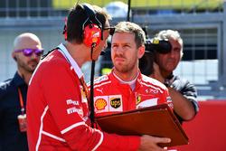 Sebastian Vettel, Ferrari ve Riccardo Adami, Ferrari Yarış Mühendisi
